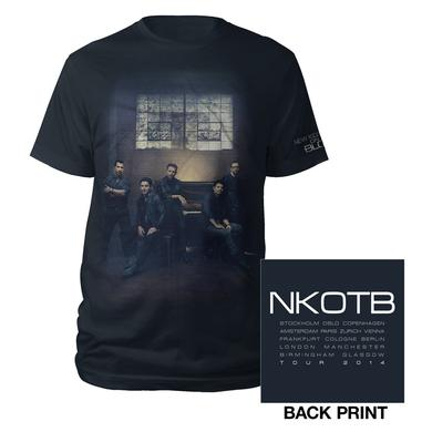 New Kids On The Block NKOTB Black Photo/Itin T-shirt