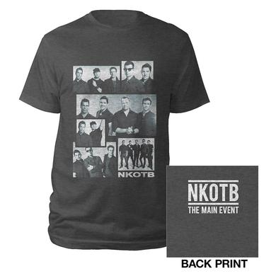 New Kids On The Block NKOTB Collage Photo Tee