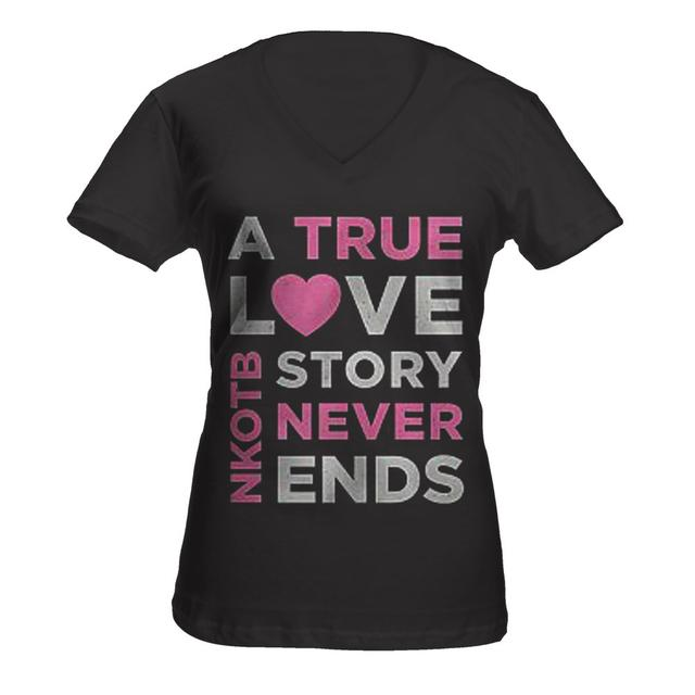 New Kids On The Block True Love Story Ladies Tee