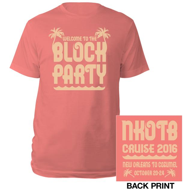 New Kids On The Block NKOTB Block Party Cruise Tee