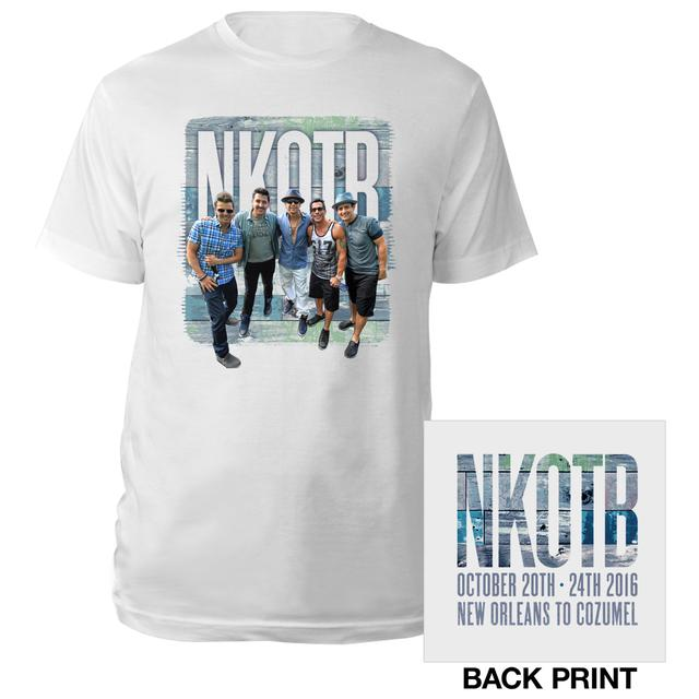 New Kids On The Block NKOTB Cruise Photo Tee