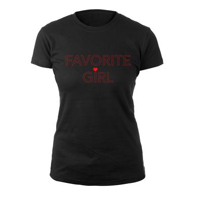 New Kids On The Block Favorite Girl Ladies Tee