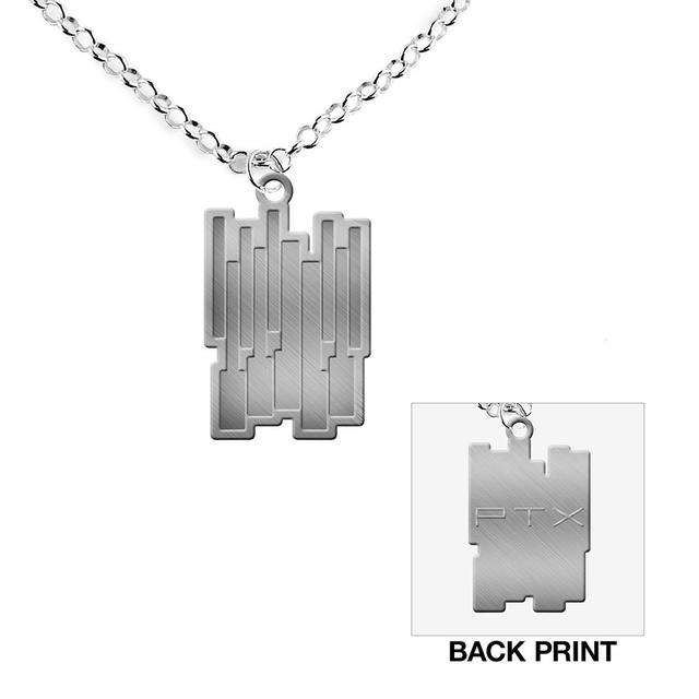 Pentatonix Piano Keys Necklace