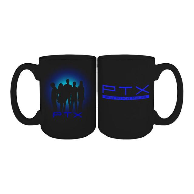 Pentatonix On My Way Home Tour Silhouette Mug