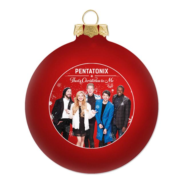 "Pentatonix ""That's Christmas To Me"" Ornament"