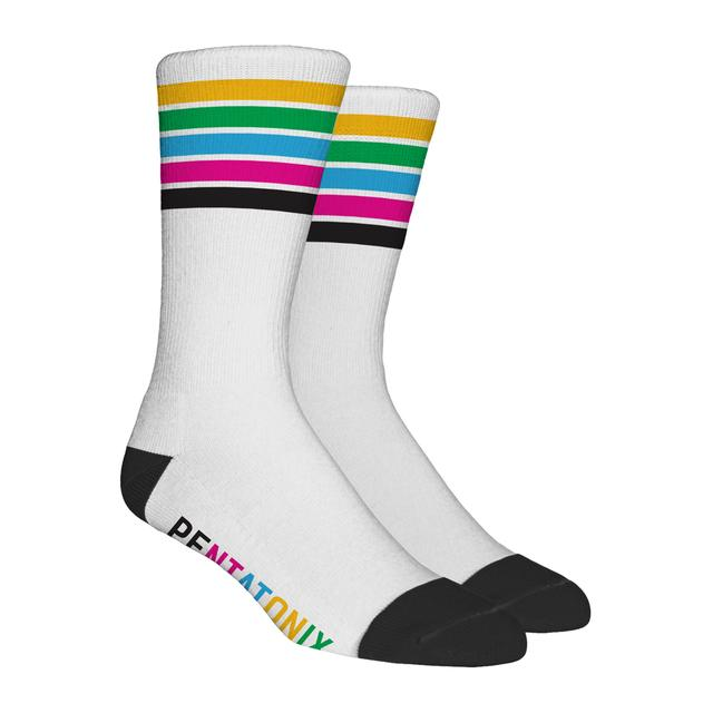 Pentatonix Five Color Socks