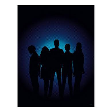 Pentatonix Silhouette Poster