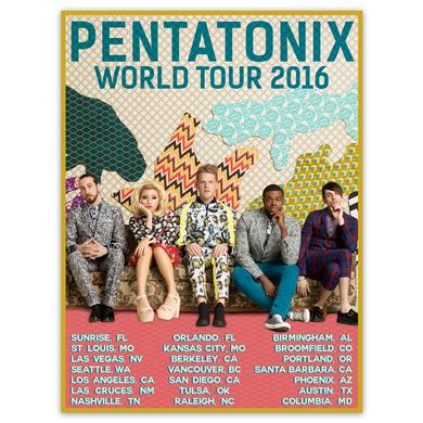 Pentatonix World Tour 2016 Poster