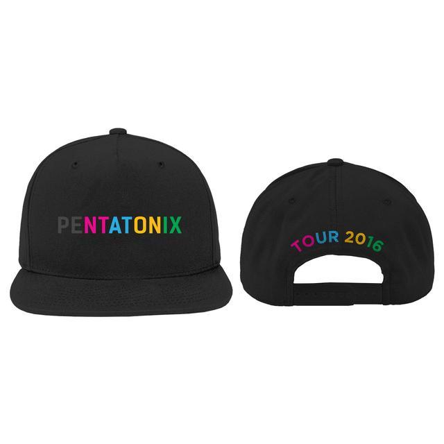 Pentatonix Color Logo Tour 2016 Hat