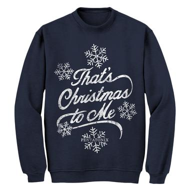 Pentatonix That's Christmas To Me Navy Sweatshirt