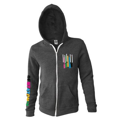 Pentatonix Color Keys Applique Zip Hoodie