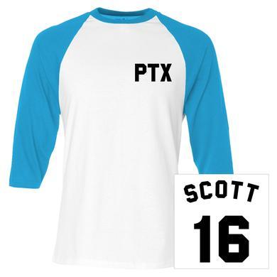 Pentatonix Scott Baseball Jersey Tee