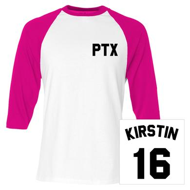 Pentatonix Kirstin Baseball Jersey Tee