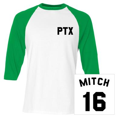 Pentatonix Mitch Baseball Jersey Tee