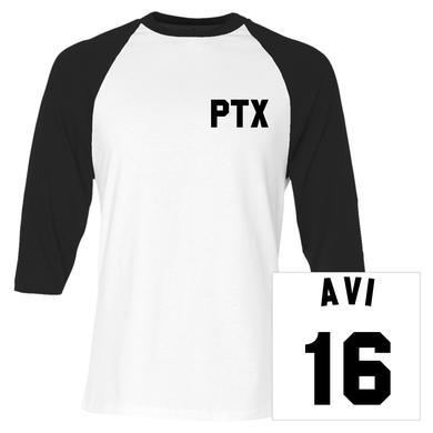 Pentatonix Avi Baseball Jersey Tee