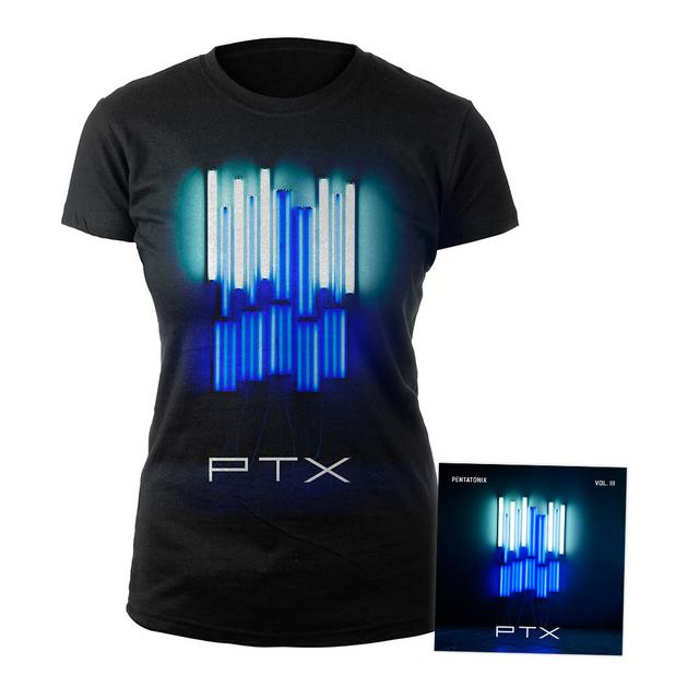 Pentatonix Vol. III CD + Album Junior Tee Bundle