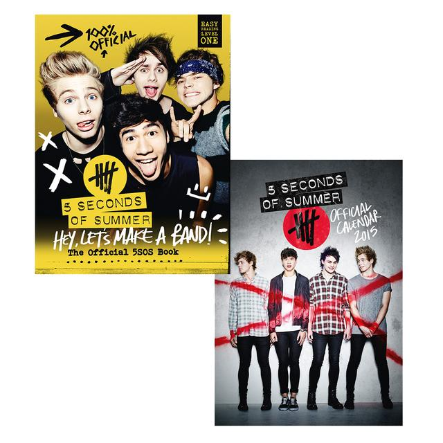 5SOS Book & 5SOS Calendar Bundle