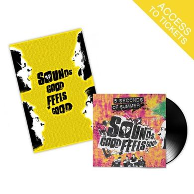 "5SOS Sounds Good Feels Good 12"" Vinyl + Fan Poster (Limited to 1,200 Units)"