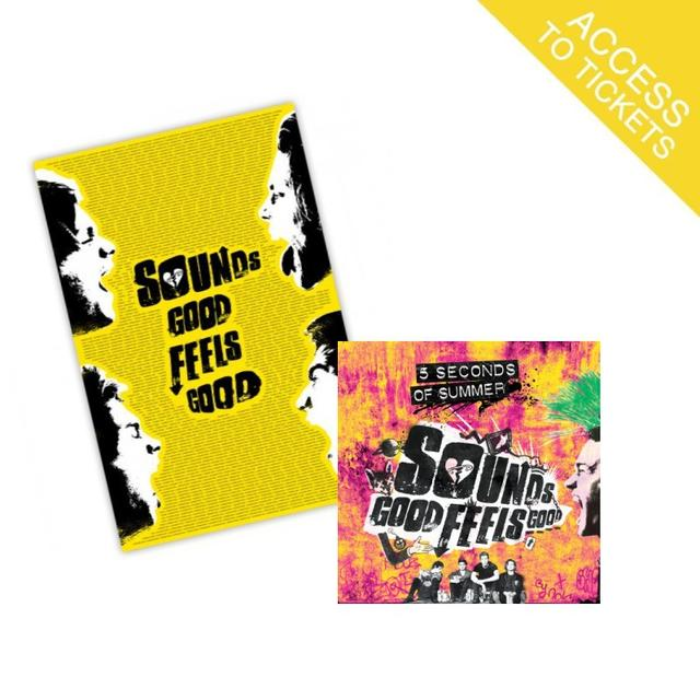 5SOS Sounds Good Feels Good Limited Edition Deluxe CD + Fan Poster (Limited to 1,200 Units)