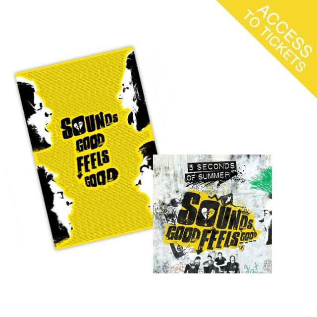 5SOS Sounds Good Feels Good Limited Edition Standard CD + Fan Poster (Limited to 1,200 Units)