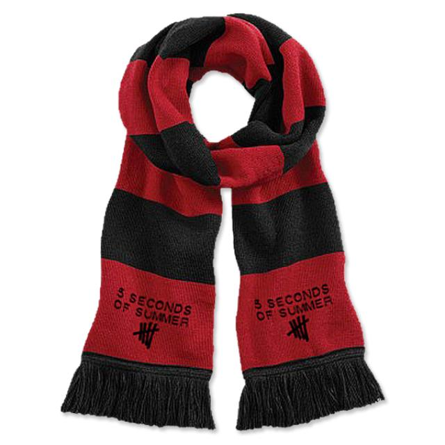 5SOS: Tally Logo Embroidered Scarf