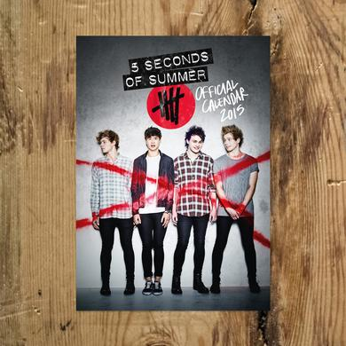 Official 5SOS Calendar for 2015
