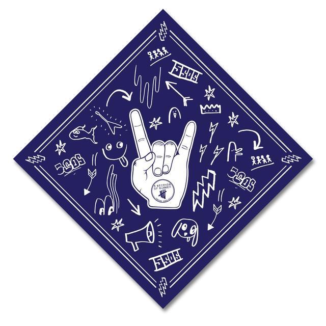 5SOS: Rock Hands Bandana