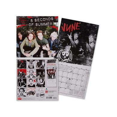 "5 Seconds of Summer 2016 Calendar | 7"" x7"""