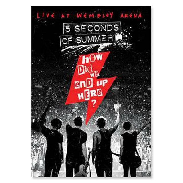 5 Seconds Of Summer Pre-Order How Did We End Up Here? Blu-ray