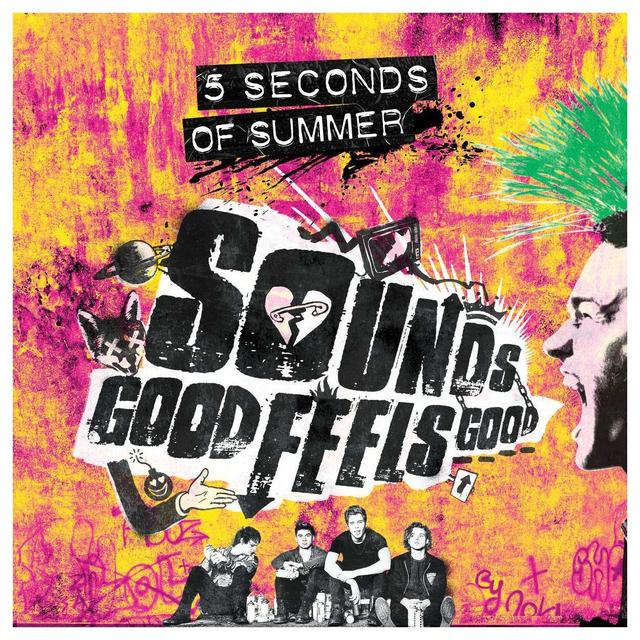 5 Seconds Of Summer Sounds Good Feels Good Limited Edition Deluxe CD