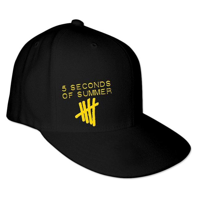 5SOS: Tally Logo Rapper Cap