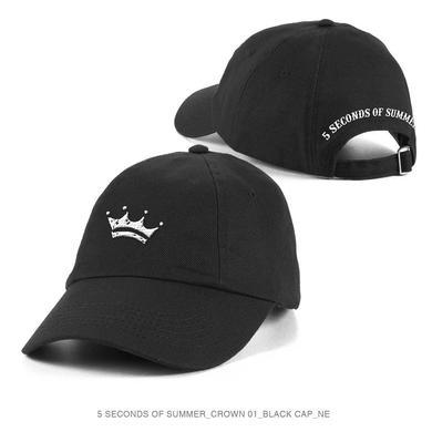 5 Seconds Of Summer Crown Black Cap