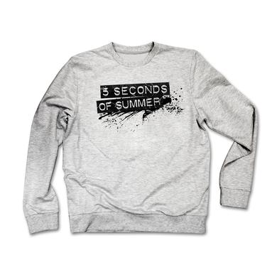 5SOS Logo Sweatshirt - Grey