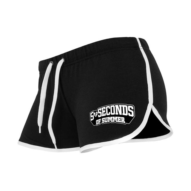 5 Seconds Of Summer Safety Pin Runner Shorts