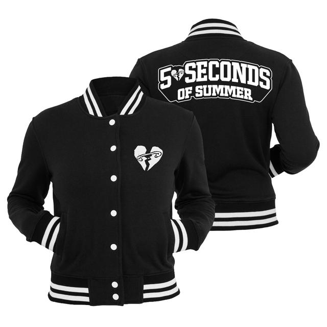 5 Seconds Of Summer Safety Pin Letterman Jacket