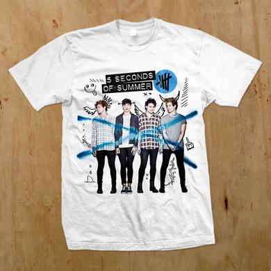 5SOS: Deluxe Album Cover T-Shirt