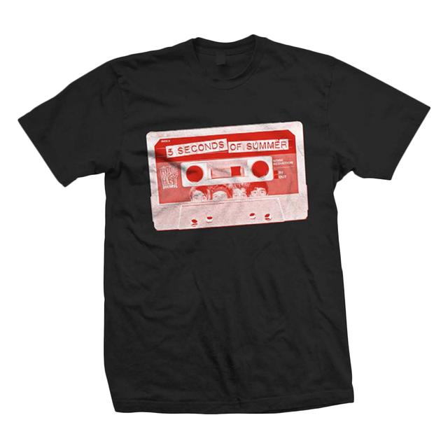 5SOS: Red Cassette T-Shirt