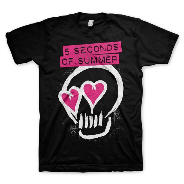 5SOS: Skull T-Shirt