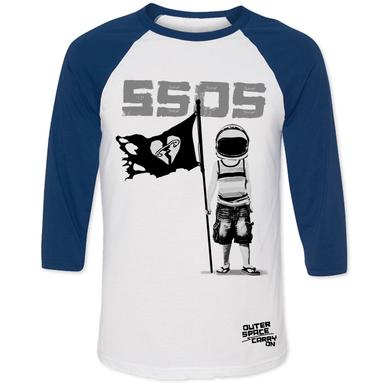 5SOS: Outer Space Baseball Tee