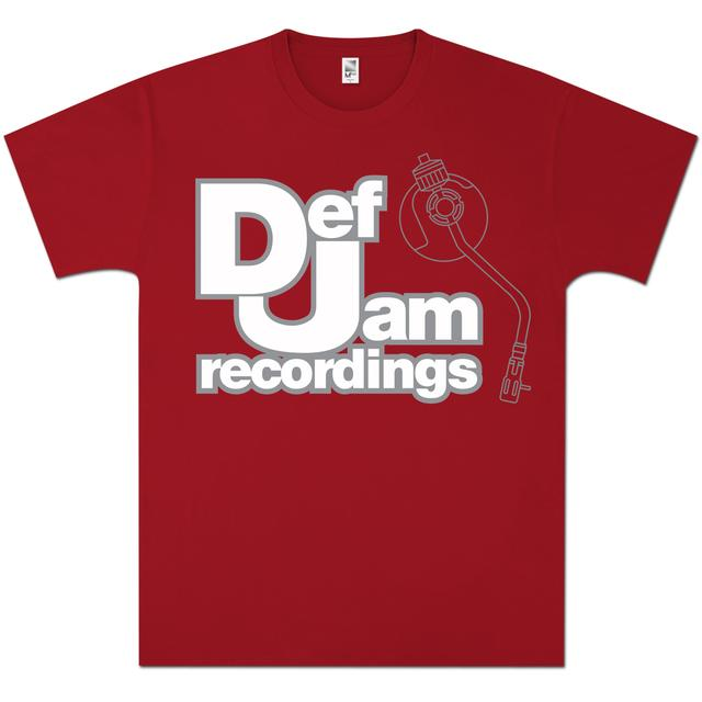 Def Jam White Logo T-Shirt