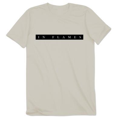 In Flames Plain Logo T-Shirt