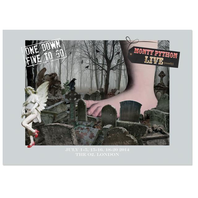 Monty Python Admat Event Poster