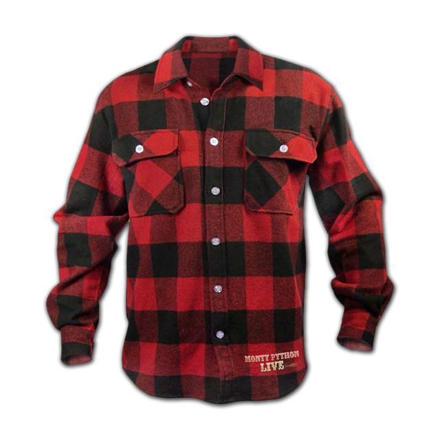 Monty Python Lumberjack Flannel Shirt