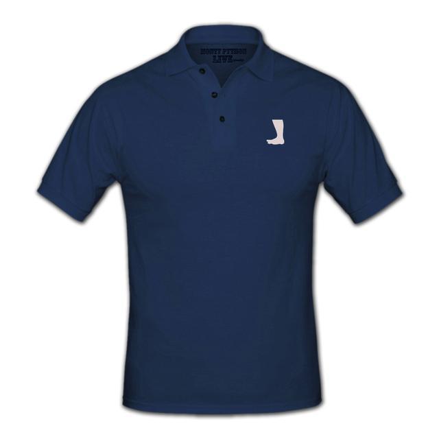 Monty Python Foot Logo Polo Shirt