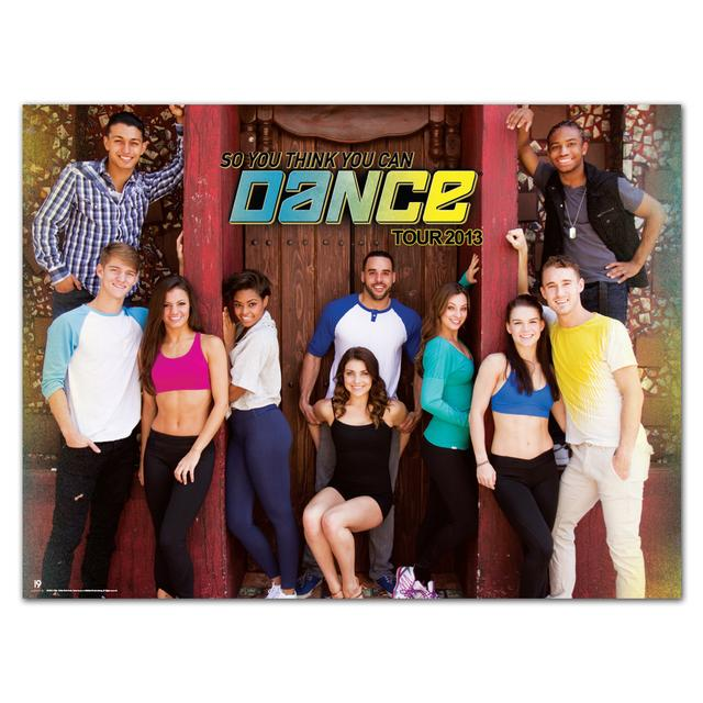 So You Think You Can Dance Tour 2013 So You Think You Can Dance Group 24x18 Poster