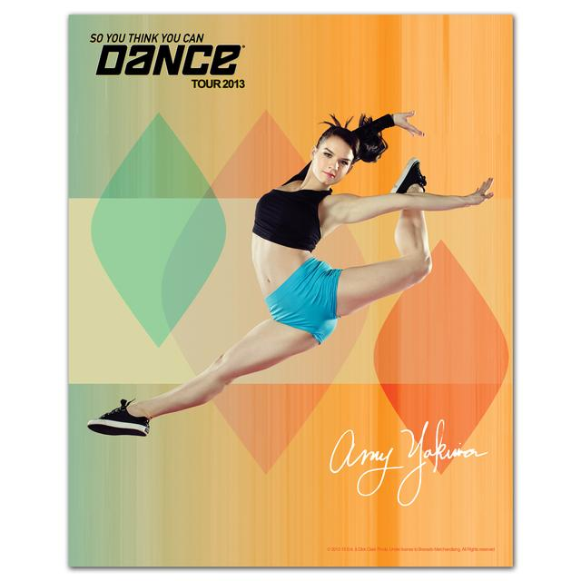 So You Think You Can Dance Tour So You Think You Can Dance 8x10 Amy Yakima Poster