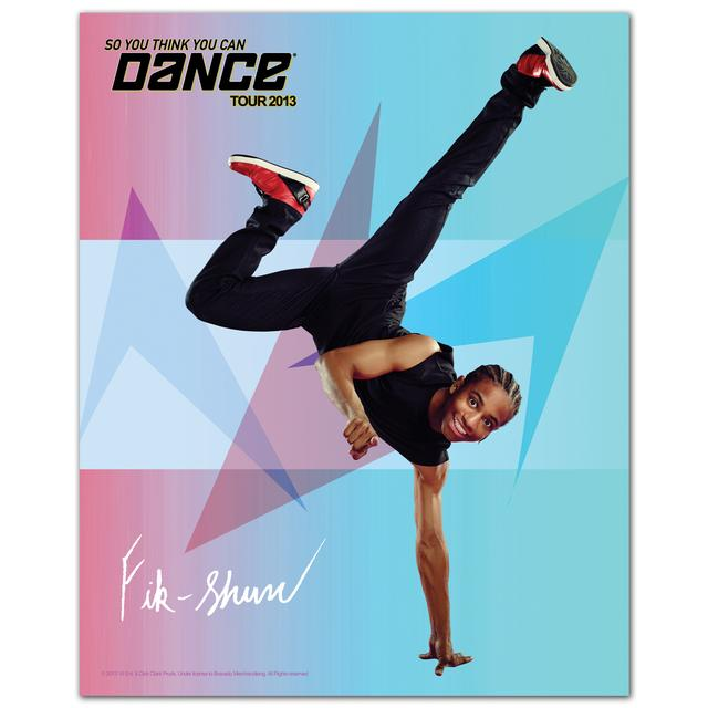 So You Think You Can Dance Tour So You Think You Can Dance 8x10 Fik Shun Poster