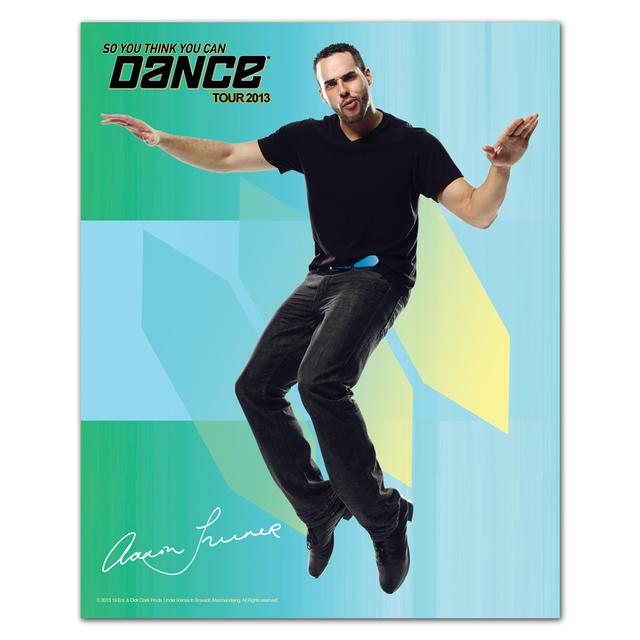 So You Think You Can Dance Tour So You Think You Can Dance 8x10 Aaron Turner Poster