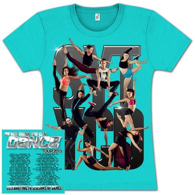 So You Think You Can Dance Tour So You Think You Can Dance Group Photo 2013 Youth T-Shirt - Turquoise