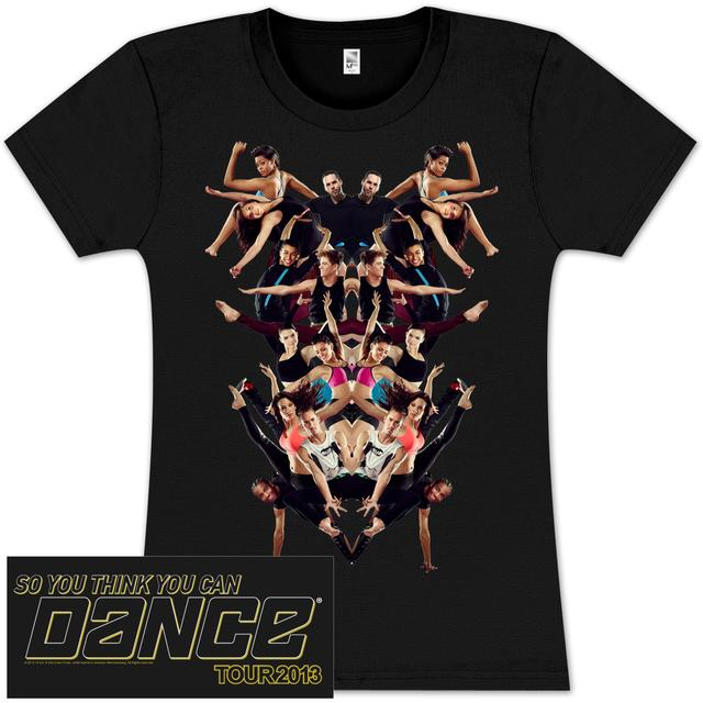 So You Think You Can Dance Tour So You Think You Can Dance Kaleidoscope Babydoll T-Shirt
